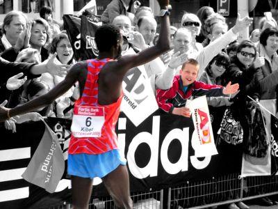 Duncan Kibet, Rotterdam marathon, clocked 2:04:27. Second fastest ever.