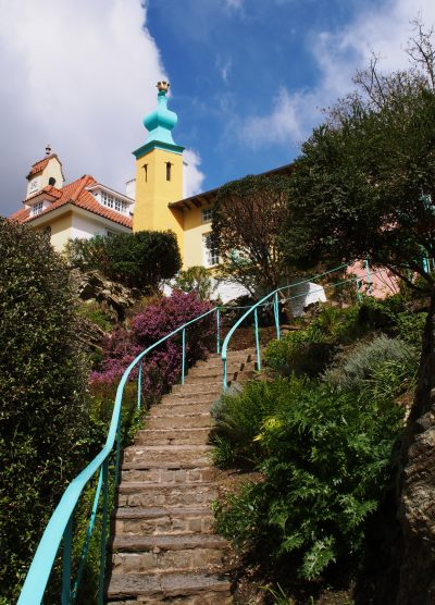 Portmeirion stairs