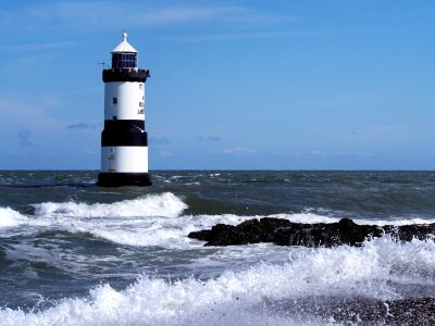 Trwyn Du Lighthouse, Anglesey