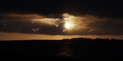 Almost Sunset over Anglesey