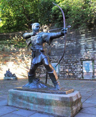 Robin Hood, Nottingham