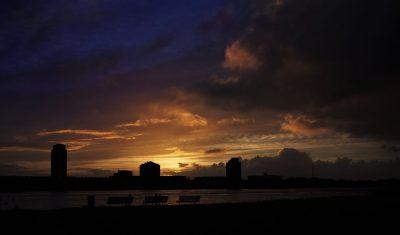 Sunset over Spijkenisse